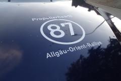 BMW Startnummer