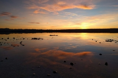 Ammersee Sonnenuntergang Panorama