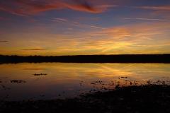 Ammersee Sonnenuntergang Spiegelung