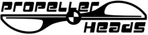 Team Propellerheads Logo schwarz