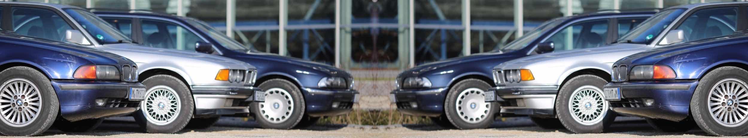 Team Propellerheads Autos Motorhauben BMW E39 E32 Spiegelung