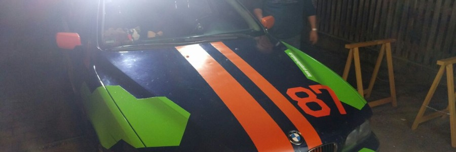 Stickers make the car go faster!