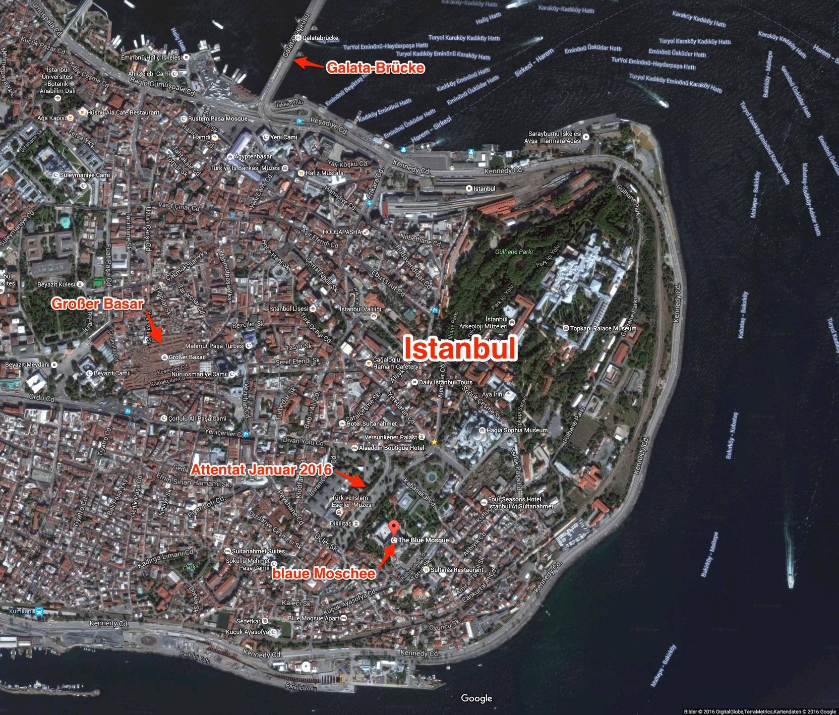 Team Propellerheads - AOR2016 - Istanbul Blaue Moschee - Rosengarten