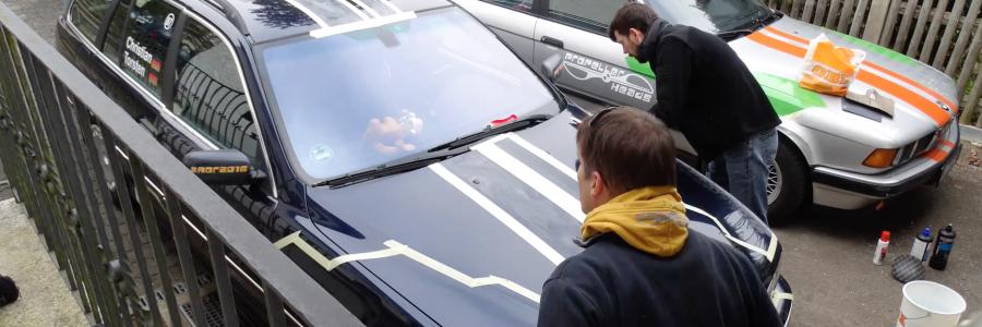 Vom Auto zum Rallye-Auto in 10 Sekunden (Video)