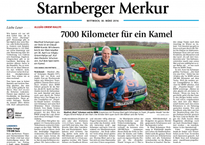 Manfred Schamper Team Propellerheads Interview Allgäu-Orient-Rallye Starnberger Merkur