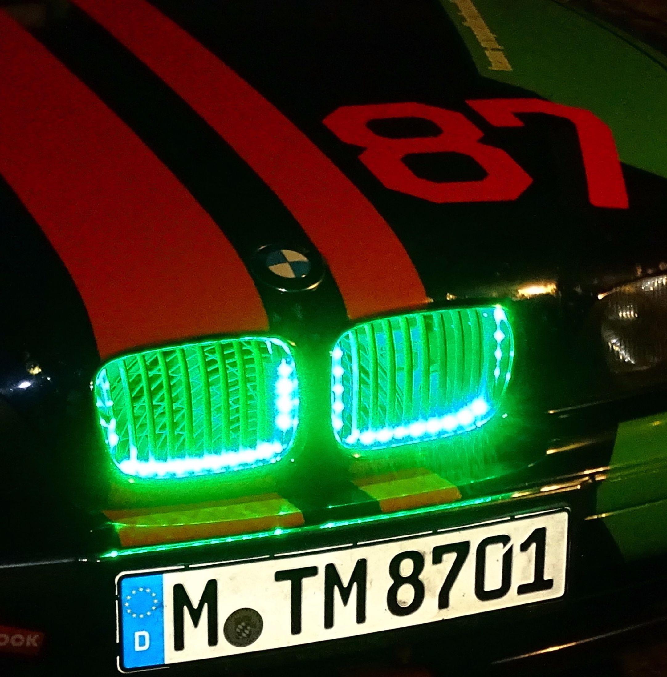 Team Propellerheads - Thomas Ebert - Mani Schamper - BMW E39 Nierenbeleuchtung